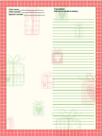 compassion christmas gifts stationery