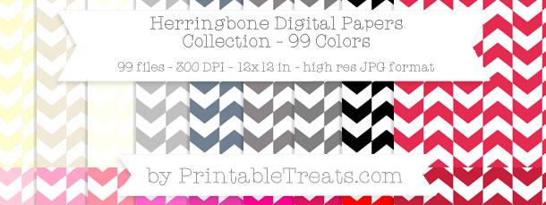 Download 99 Colors Herringbone Digital Paper from PrintableTreats.com