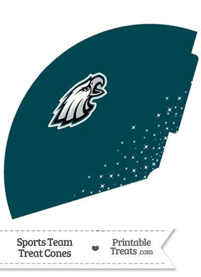 Eagles Treat Cone Printable from PrintableTreats.com