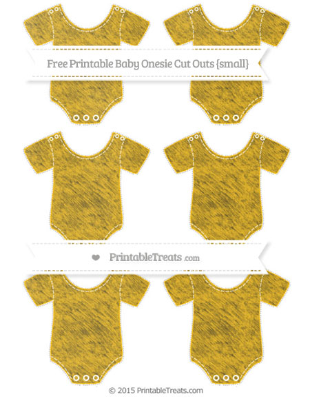 Free Amber Chalk Style Small Baby Onesie Cut Outs