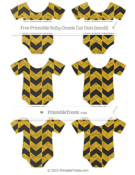 Free Amber Herringbone Pattern Chalk Style Small Baby Onesie Cut Outs