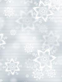 free christmas stationery