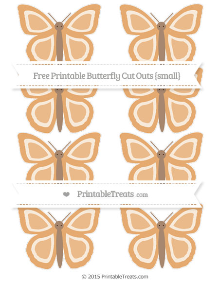 Free Fawn Small Butterfly Cut Outs