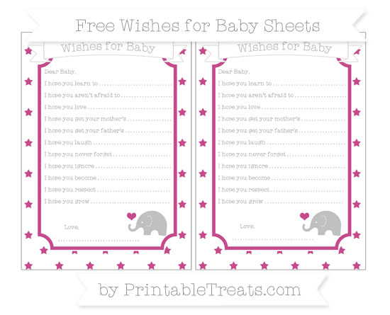 Free Mulberry Purple Star Pattern Baby Elephant Wishes for Baby Sheets