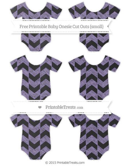 Free Pastel Dark Plum Herringbone Pattern Chalk Style Small Baby Onesie Cut Outs