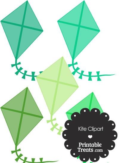 Green Clipart from PrintableTreats.com