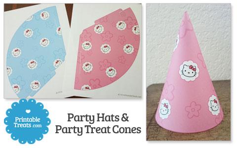hello kitty party cones