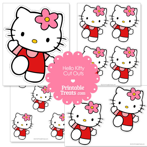 Hello Kitty printable cut out