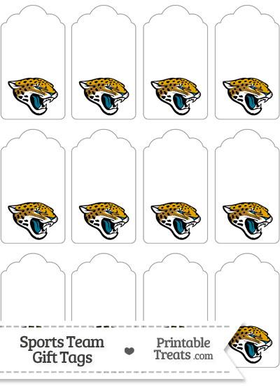 Jacksonville Jaguars Gift Tags from PrintableTreats.com