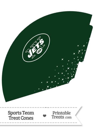 Jets Treat Cone Printable from PrintableTreats.com