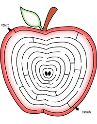 fun mazes for kids apple