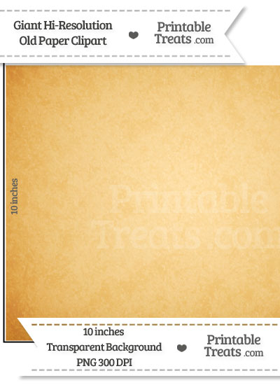 Old Paper Giant Square Clipart from PrintableTreats.com