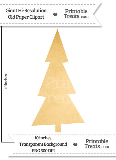 Old Paper Giant Tree Clipart from PrintableTreats.com