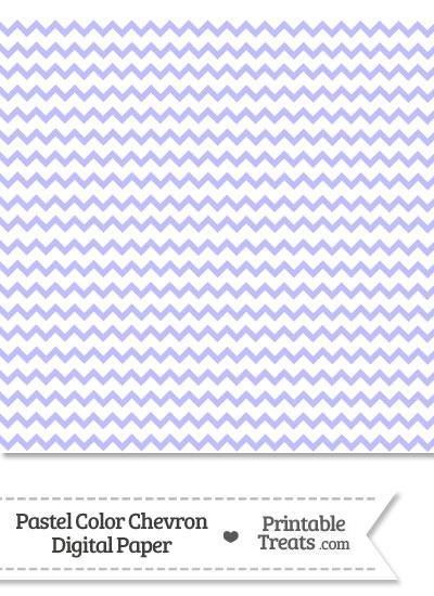 Pastel Purple Chevron Digital Scrapbook Paper from PrintableTreats.com