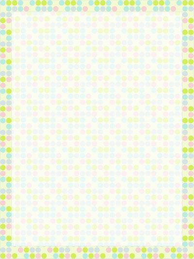 polka dot stationery paper