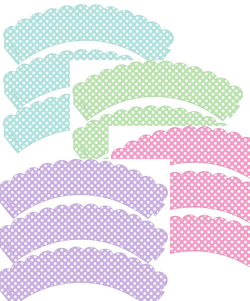 free printable baby shower cupcake wrappers
