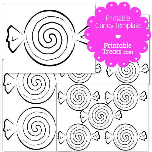 printable candy templates