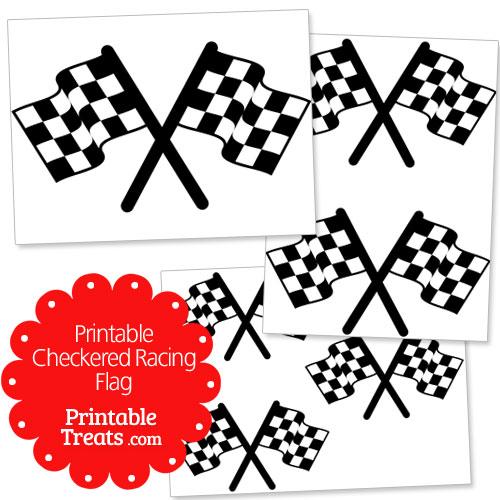 printable checkered racing flag