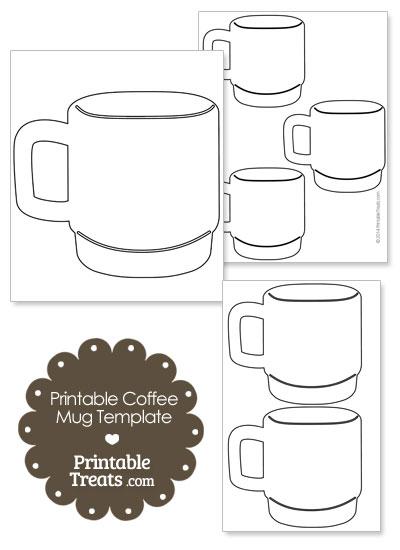 Printable Coffee Mug Template from PrintableTreats.com