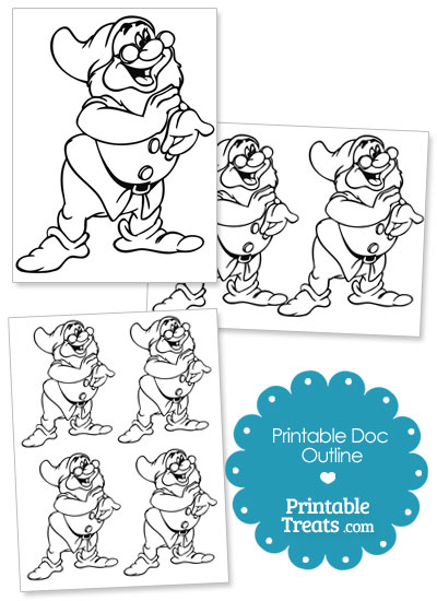 Printable Doc Outline from PrintableTreats.com