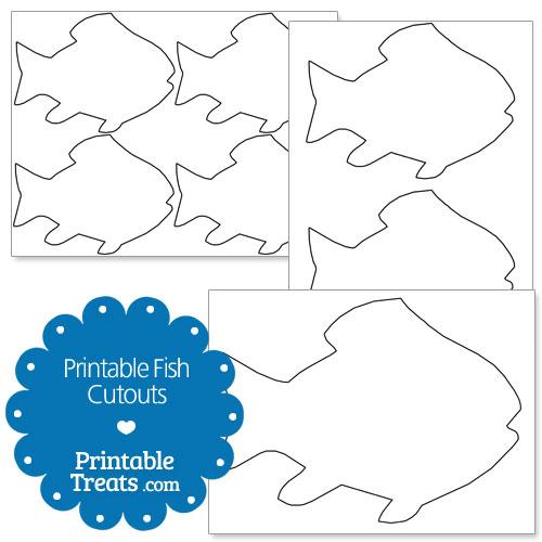 printable fish cutouts