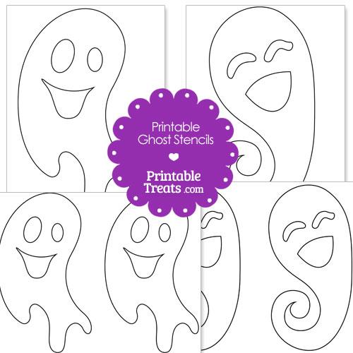printable ghost stencils