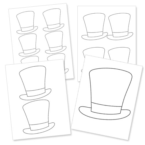 printable magician hat
