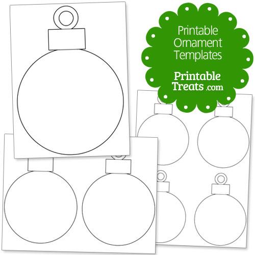 printable ornament templates