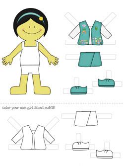 asian printable paper dolls
