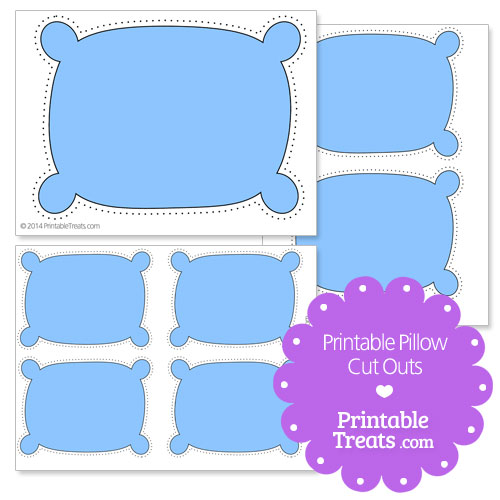 printable pillow cut outs