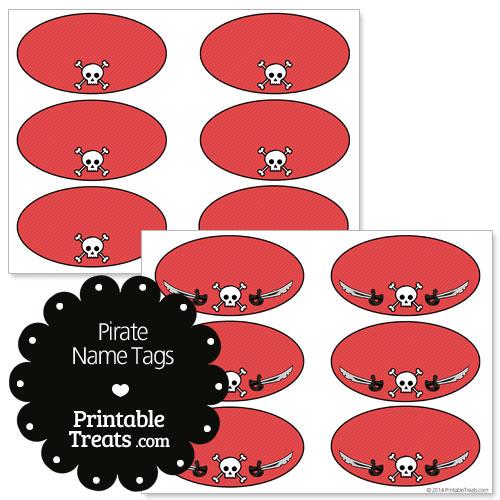 printable pirate name tags