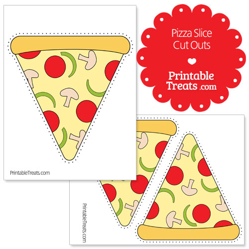 printable pizza slice cut outs