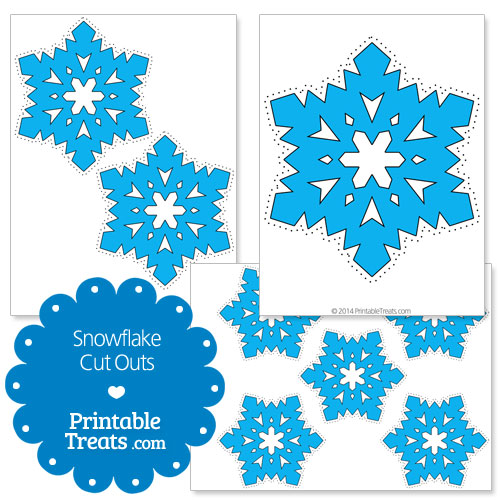 printable snowflake cut outs