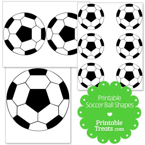 printable soccer ball shapes