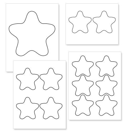printable star shapes