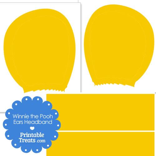 printable Winnie the Pooh ears