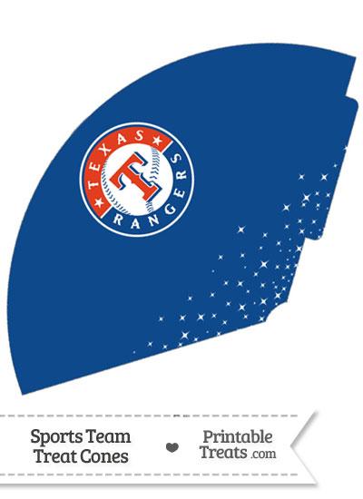 Rangers Treat Cone Printable from PrintableTreats.com