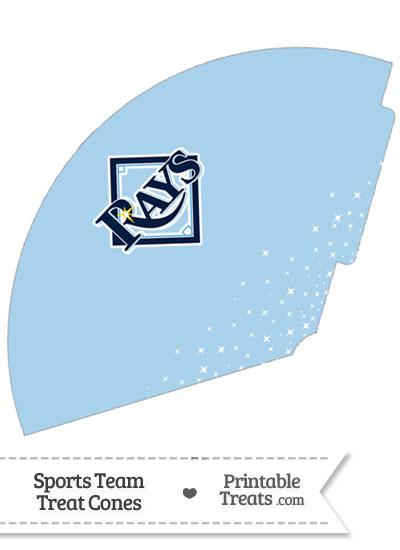 Rays Treat Cone Printable from PrintableTreats.com