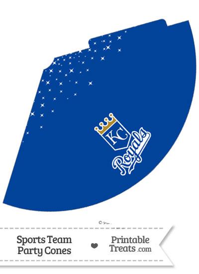 Royals Party Cone Printable from PrintableTreats.com