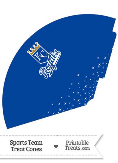 Royals Treat Cone Printable from PrintableTreats.com