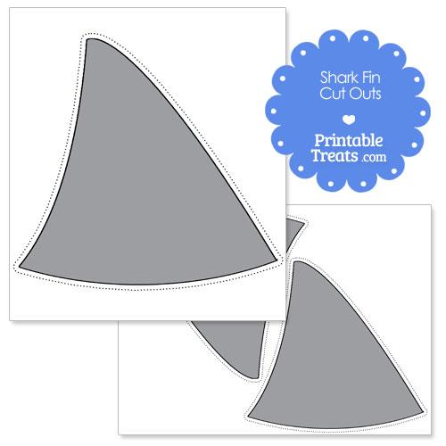 shark fin cut outs