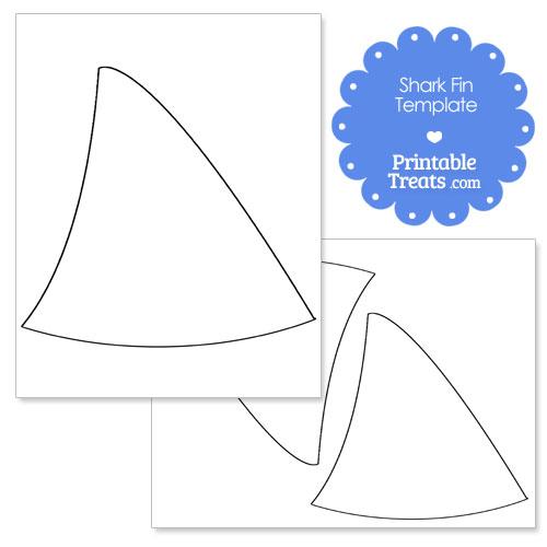 shark fin template