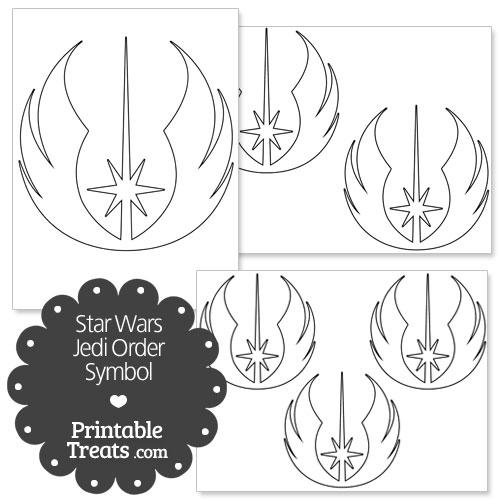 Star Wars Jedi Order Symbol from PrintableTreats.com