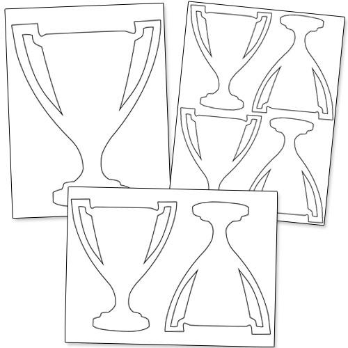 trophy shapes
