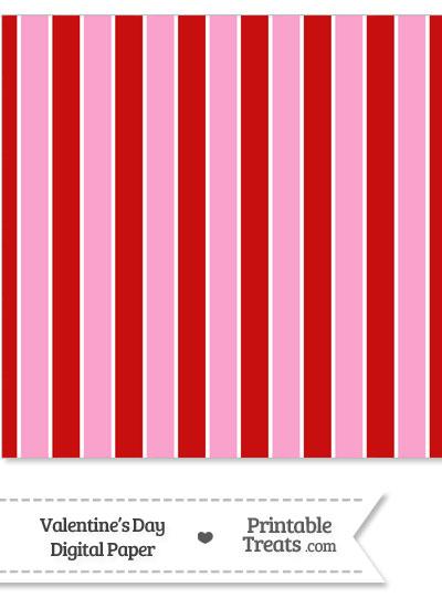 Valentines Day Digital Scrapbook Paper from PrintableTreats.com
