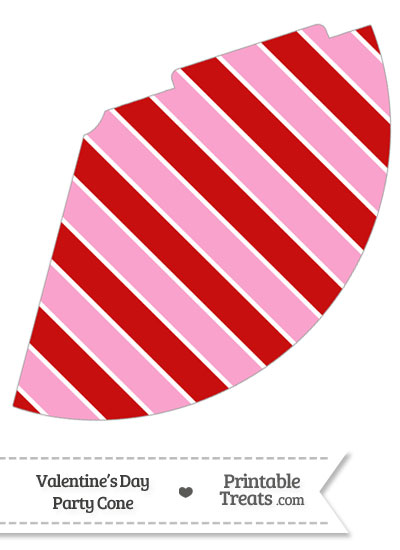 Valentines Day Party Cone from PrintableTreats.com