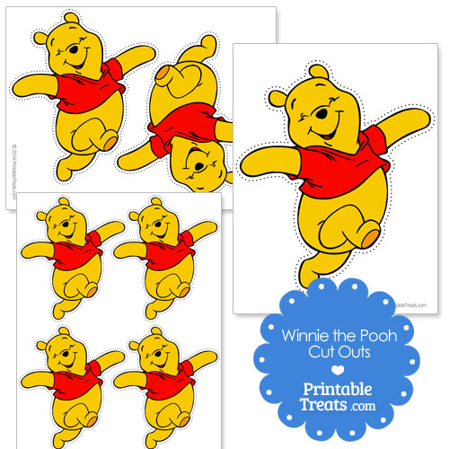Winnie the Pooh cut outs